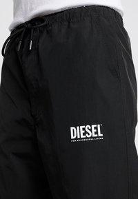 Diesel - TOLLER - Teplákové kalhoty - black - 6