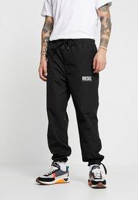 Diesel - TOLLER - Teplákové kalhoty - black - 0