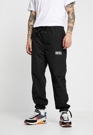 TOLLER - Teplákové kalhoty - black