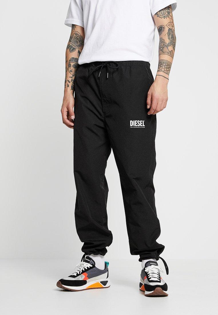 Diesel - TOLLER - Teplákové kalhoty - black
