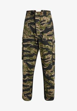 P-LUZAVIC-TIGERCAM PANTS - Pantalon cargo - khaki