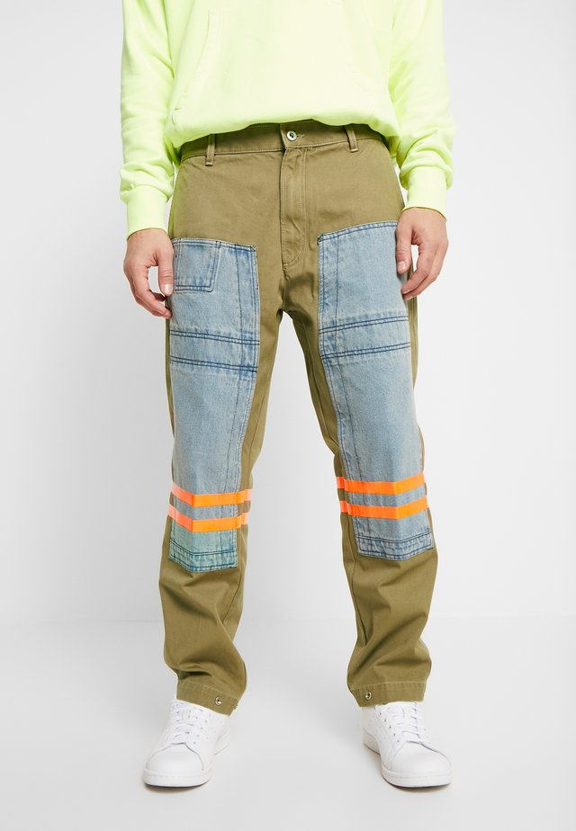 P-CARUSO TROUSERS - Broek - camel