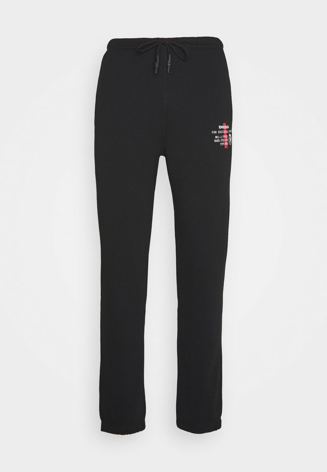 PETER TROUSERS - Verryttelyhousut - black