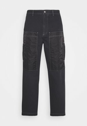 P-TRENT TROUSERS - Trousers - black