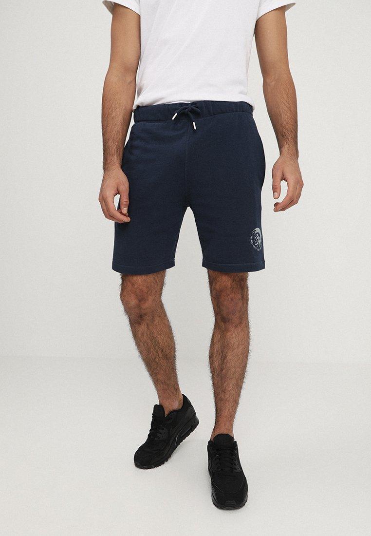Diesel - UMLB-PAN SHORTS - Shorts - blau