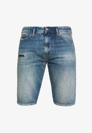 THOSHORT - Jeansshort - dark blue denim
