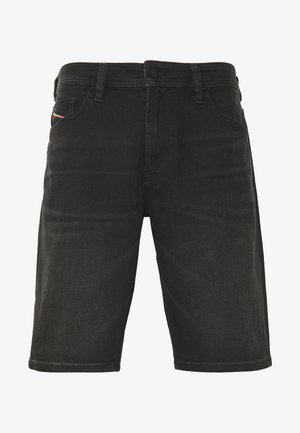 THOSHORT - Farkkushortsit - black