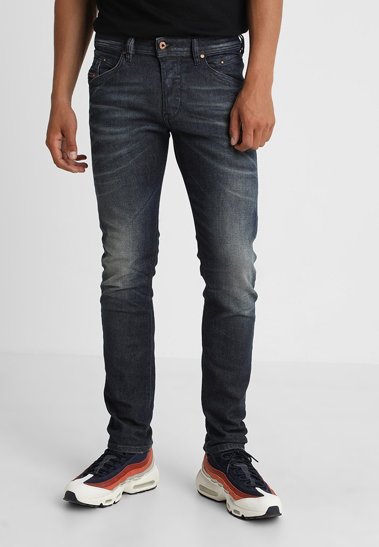Diesel - BELTHER - Jeans Slim Fit - blue denim