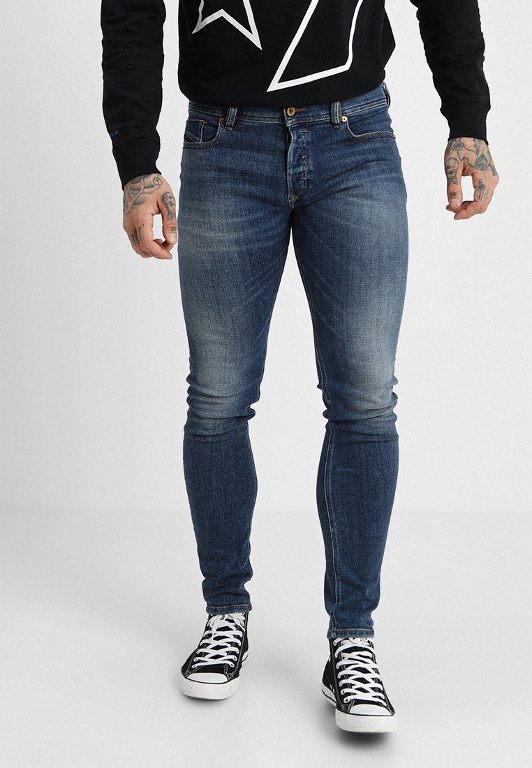 Diesel - SLEENKER - Jeans Skinny Fit - 082ab