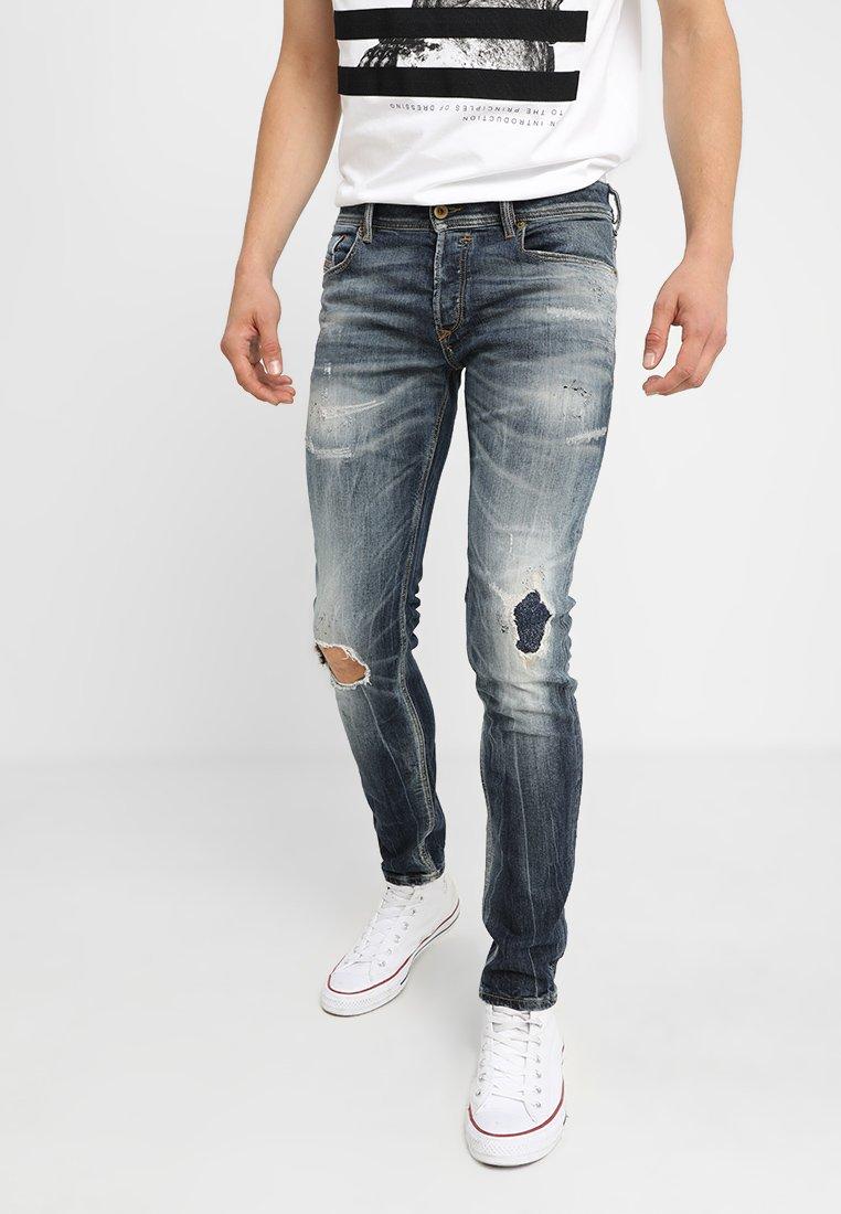 Diesel - SLEENKER - Jeans Skinny Fit - 069dj