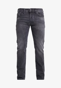 Diesel - LARKEE - Jean droit - grey denim - 4