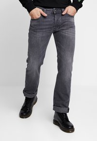 Diesel - LARKEE - Jean droit - grey denim - 0
