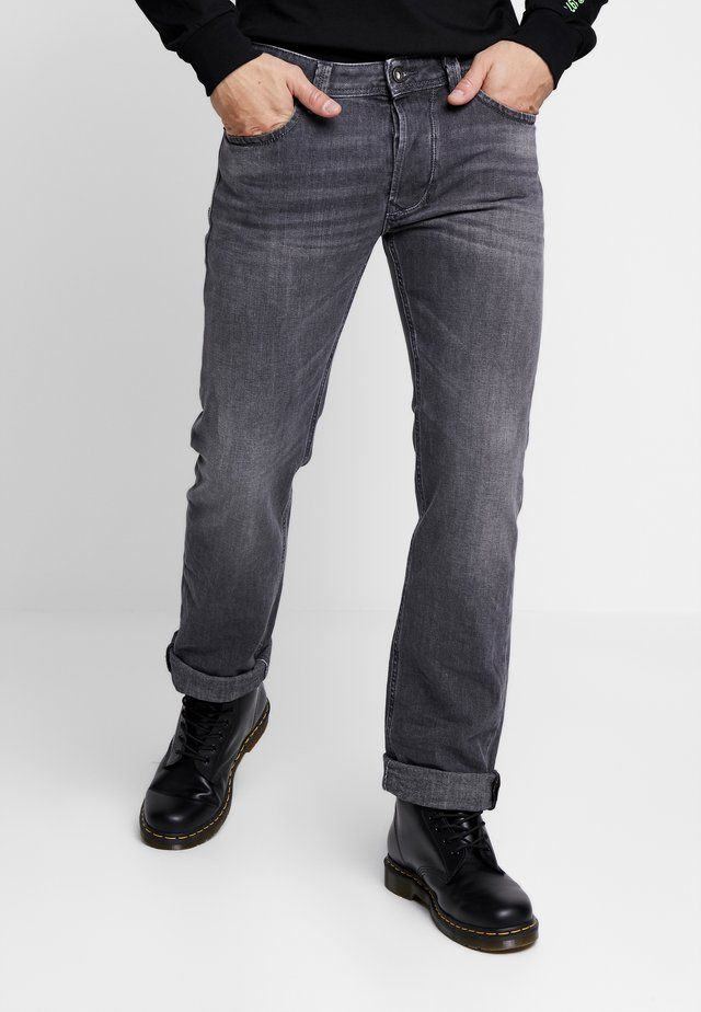 LARKEE - Jeans Straight Leg - grey denim