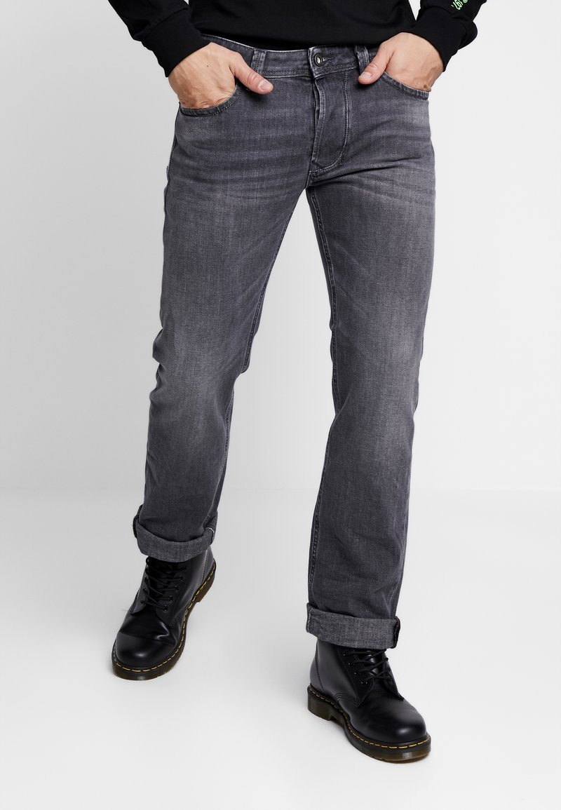 Diesel - LARKEE - Jean droit - grey denim