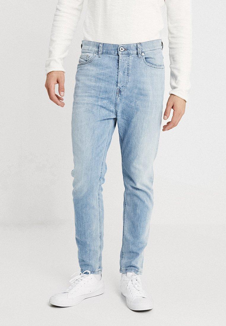 Diesel - D-VIDER - Relaxed fit jeans - blue denim