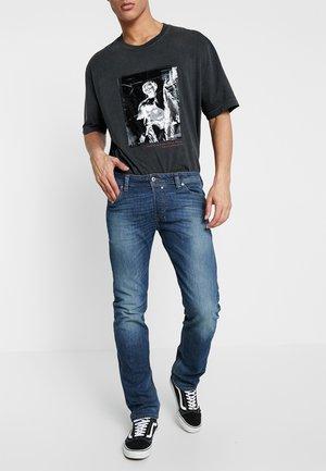 SAFADO - Jeans Slim Fit - dark blue denim