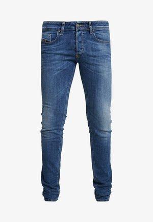 SLEENKER - Jeans Skinny Fit - dark-blue denim