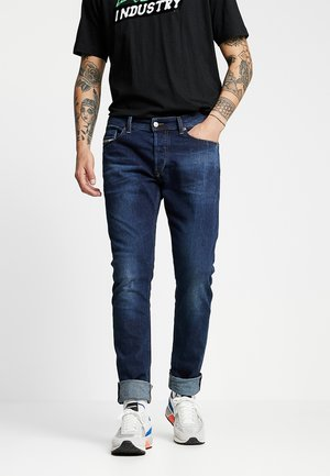 TEPPHAR - Slim fit jeans - dark-blue denim