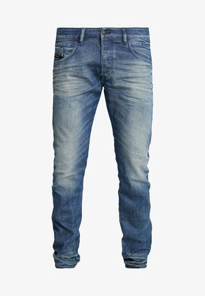 D-BAZER - Jeans Tapered Fit - blue denim, blue denim