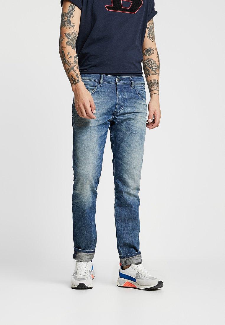 Diesel - D-BAZER - Jeans Tapered Fit - blue denim, blue denim