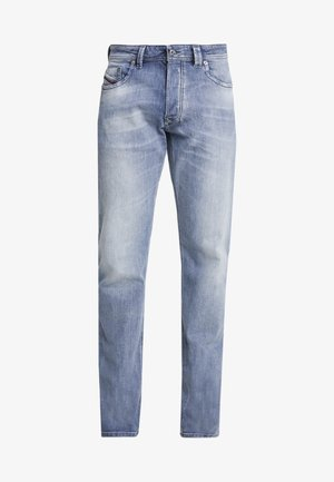 LARKEE - Straight leg jeans - grey denim