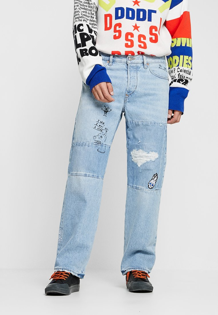 Diesel - D-KODECK-SP - Jeans Straight Leg - 0078f