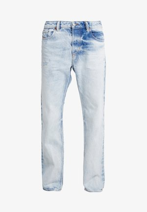 KODECK - Relaxed fit jeans - light blue denim