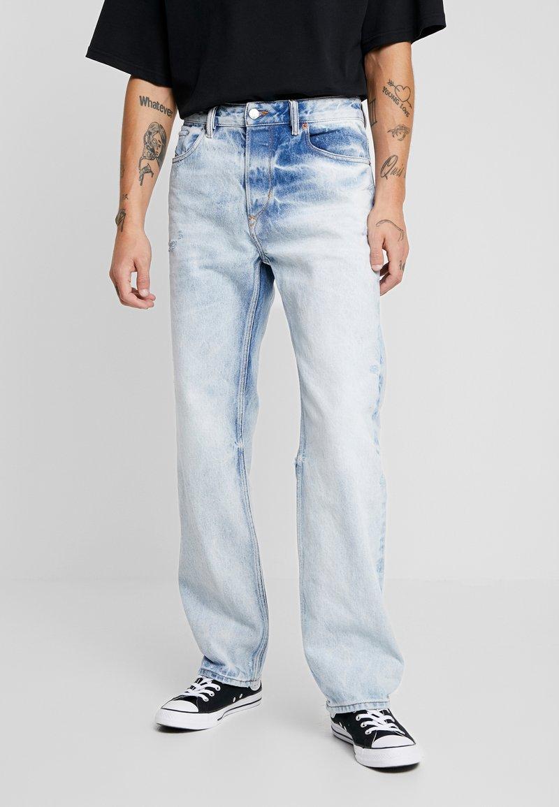 Diesel - KODECK - Jeans relaxed fit - light blue denim