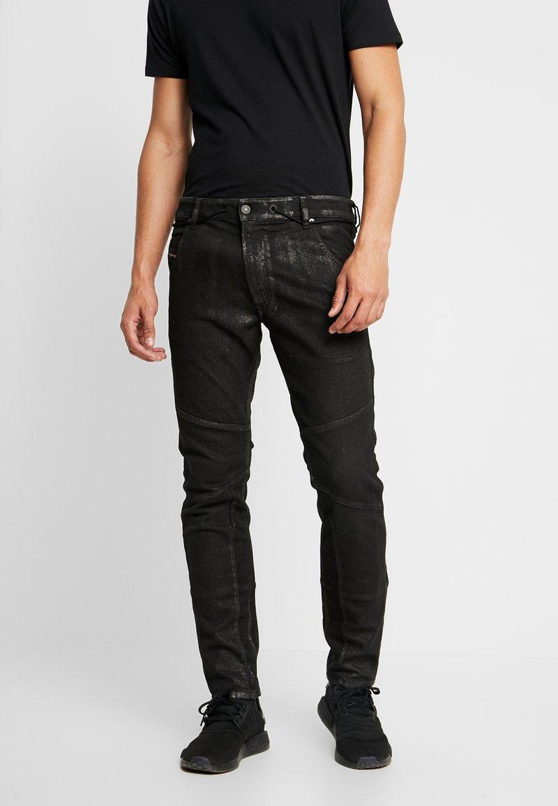 Diesel - D-LUHIC-SP1-NE JOGGJEANS - Jeans Slim Fit - 0092w