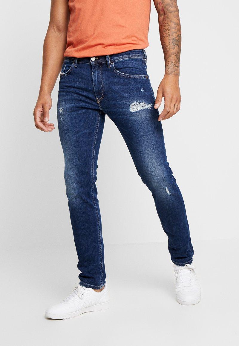 Diesel - THOMMER - Jeans Slim Fit - dark blue denim