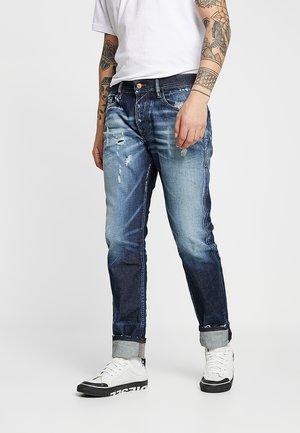 THOMMER - Jean slim - blue denim