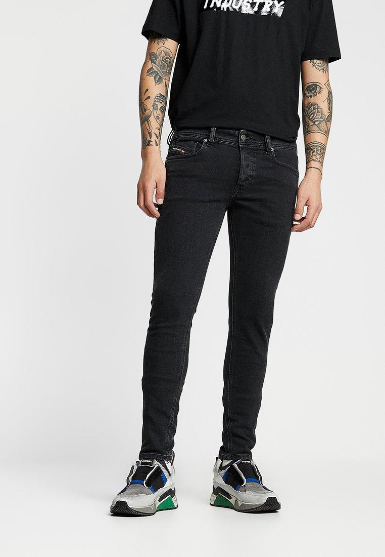 Diesel - SLEENKER - Jeans Skinny Fit - 0870g