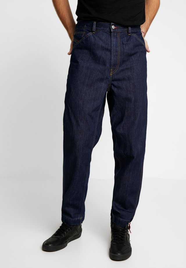DIESEL X COCA-COLA CC-D-FRANK - Džíny Relaxed Fit - dark-blue denim