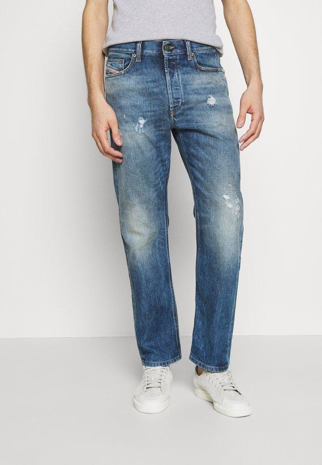 D-MACS - Straight leg jeans - dark blue denim