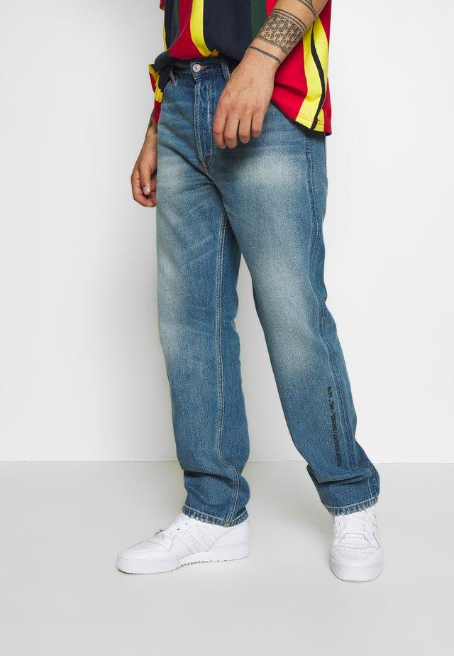 D-MACS - Straight leg -farkut - blue denim