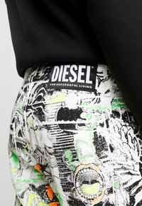 Diesel - MACS - Straight leg jeans - white denim/black denim/multicolor - 5