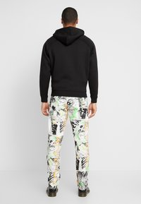 Diesel - MACS - Straight leg jeans - white denim/black denim/multicolor - 2