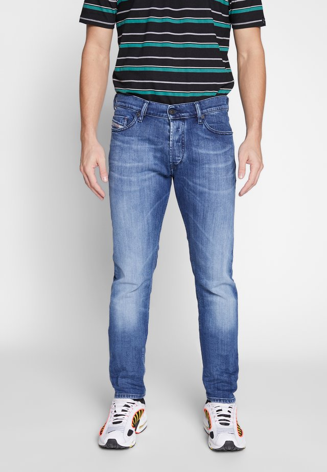 TEPPHAR-X - Jeans Skinny Fit - dark blue denim
