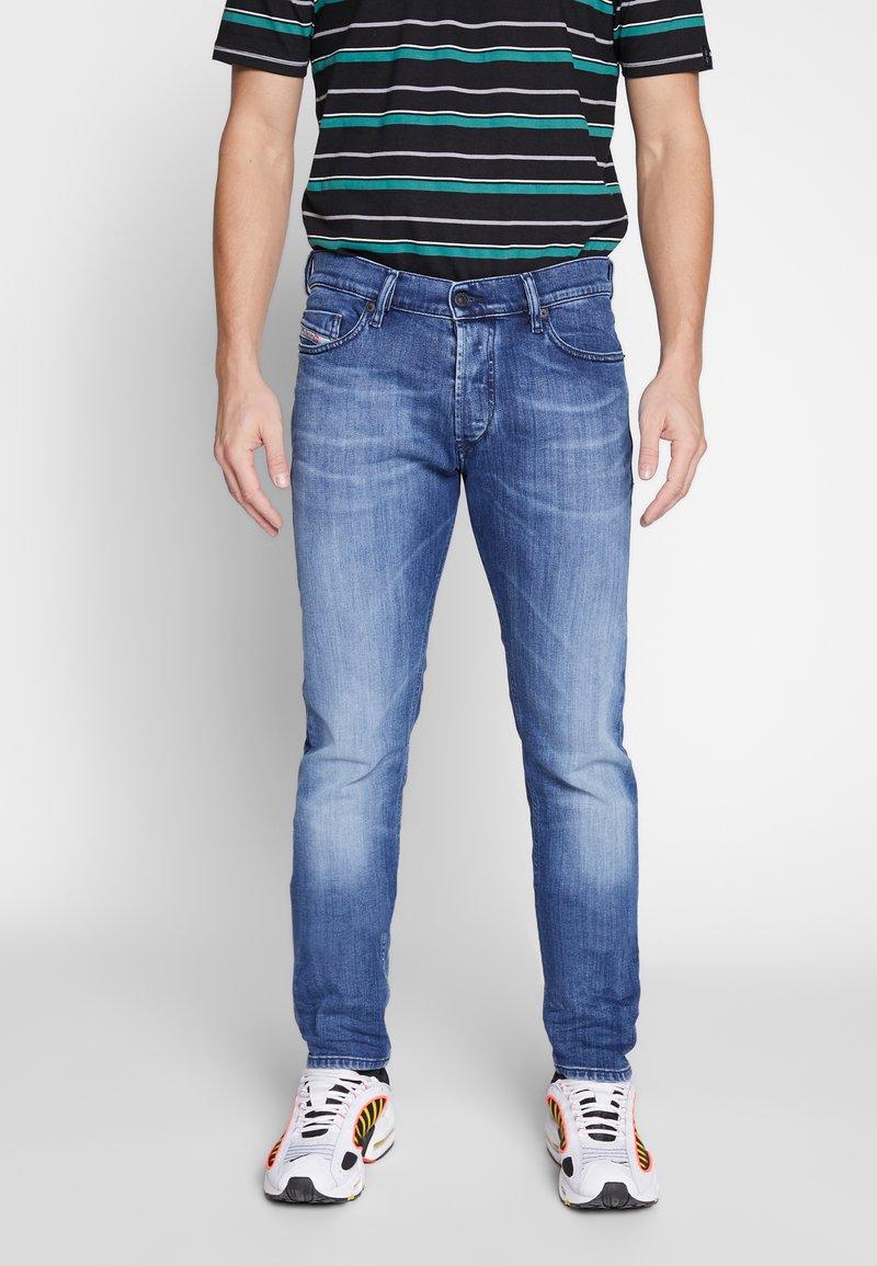 Diesel - TEPPHAR-X - Slim fit jeans - dark blue denim