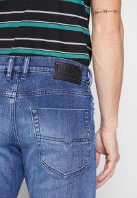 Diesel - TEPPHAR-X - Slim fit jeans - dark blue denim - 5