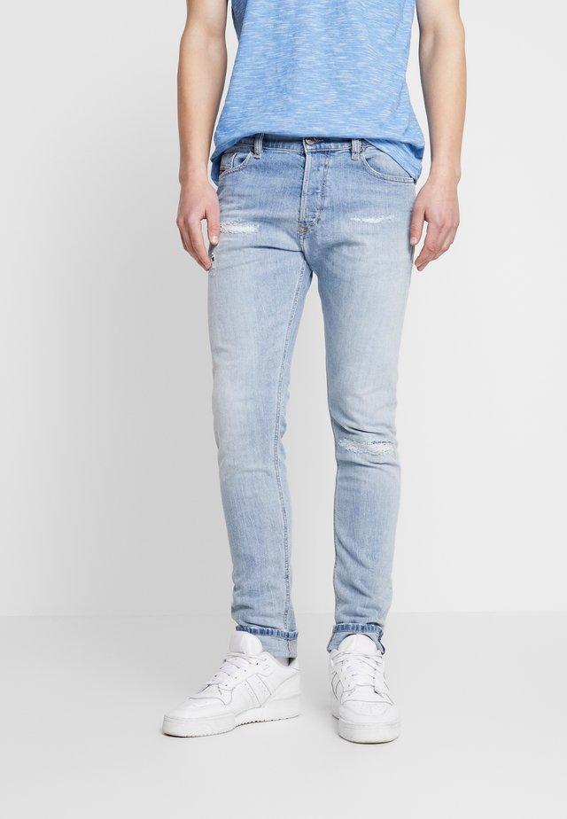 TEPPHAR-X - Jeans Skinny Fit - light-blue denim