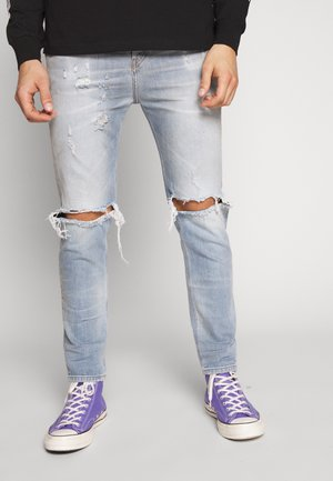 D-VIDER - Slim fit jeans - blue deim
