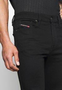 Diesel - D-ISTORT - Jeans Skinny - black denim - 3