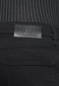 Diesel - D-ISTORT - Jeans Skinny - black denim - 4
