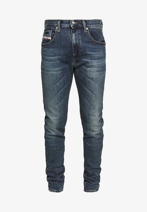 D-STRUKT - Jean slim - dark blue denim