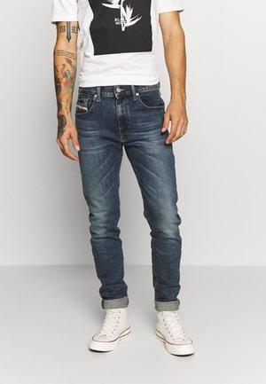 D-STRUKT - Slim fit jeans - dark blue denim