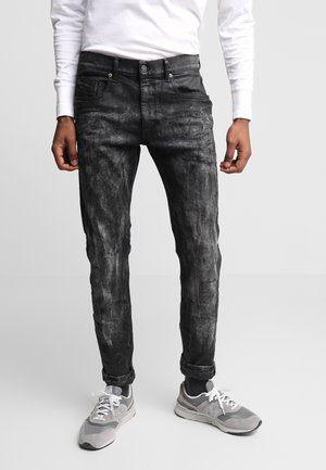 D-STRUKT - Slim fit jeans - black denim