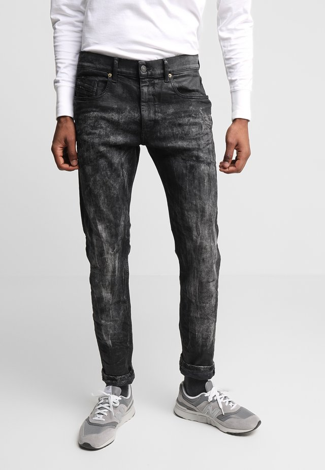 D-STRUKT - Slim fit -farkut - black denim