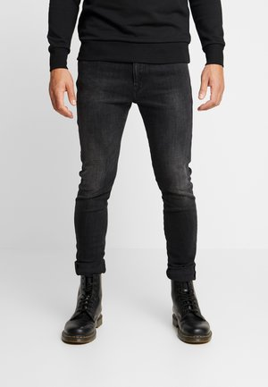 D-AMNY-X - Jean slim - black denim
