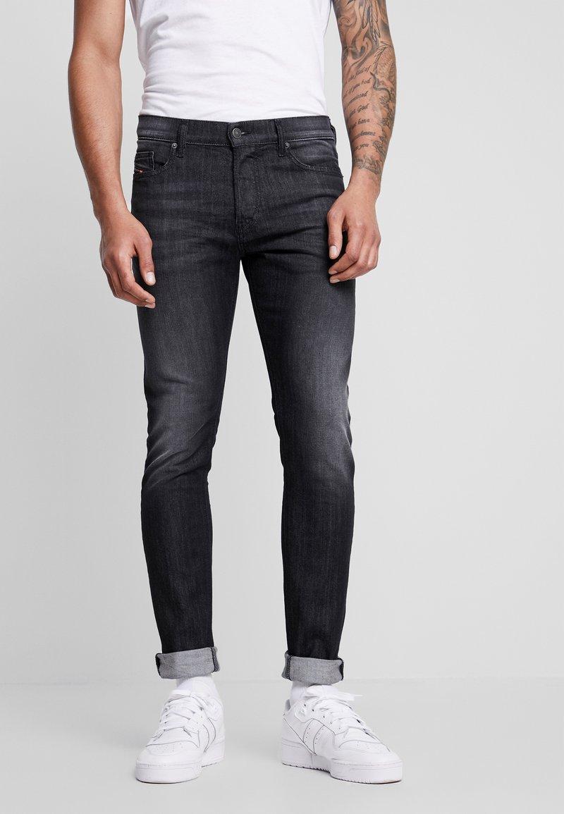 Diesel - D-LUSTER - Jean slim - black
